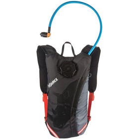 SOURCE Durabag Pro Hydration Pack 3l gray/black/fiesta